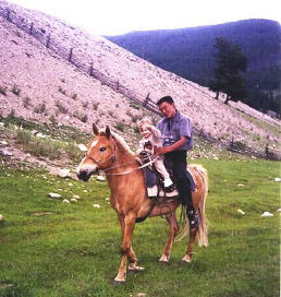 Lake Baikal Travel: Local Horseman